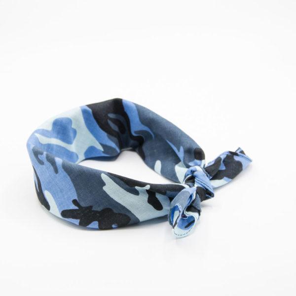 bandana militaire bleu
