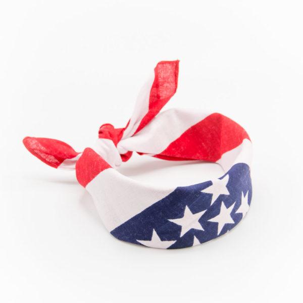 bandana drapeau américain