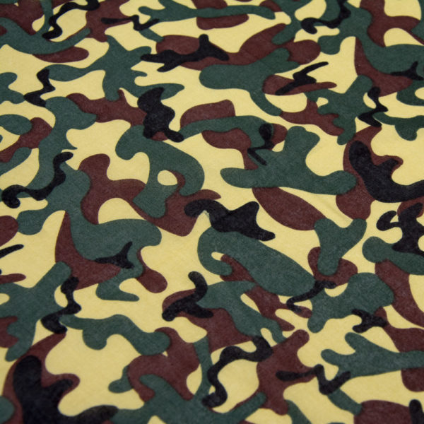 Bandana camouflage miliaire foret 2