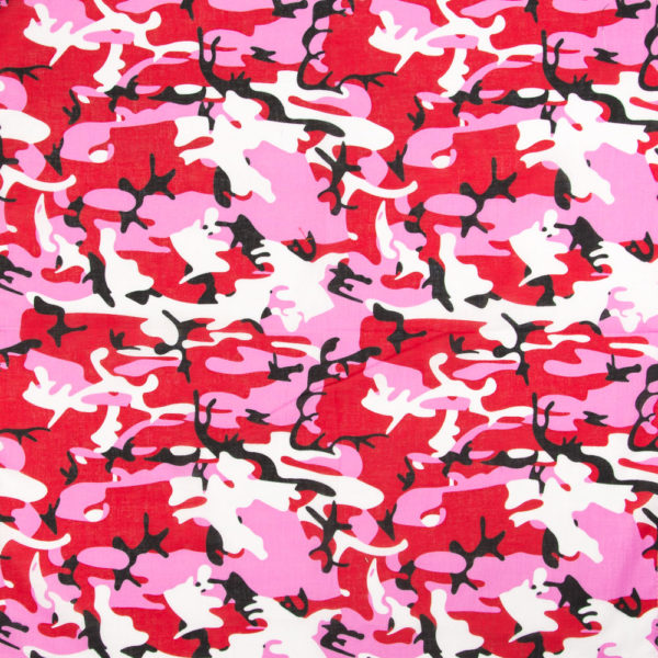 Bandana Femme militaire camouflage rose